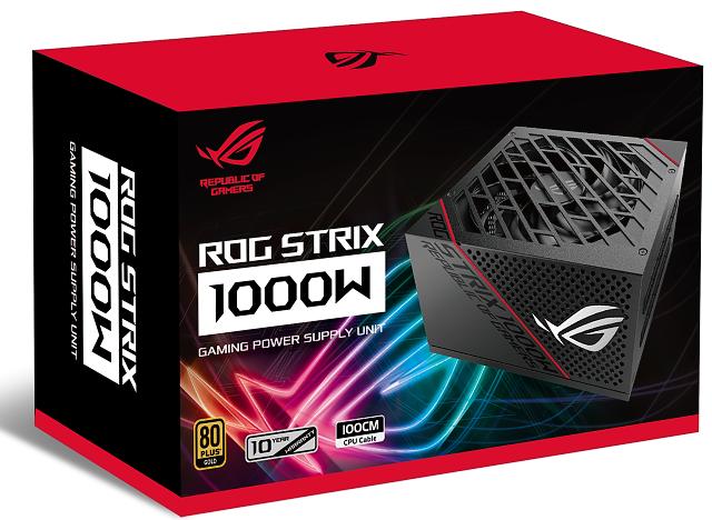 ASUS ROG Strix 1000W: Test dostupného zdroje