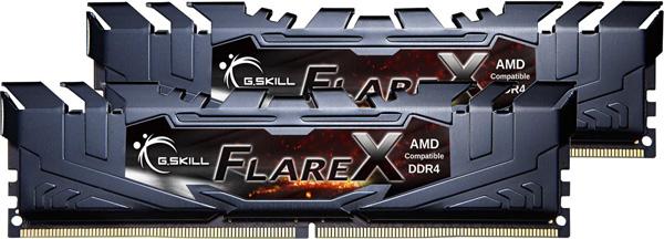 Paměťové moduly DDR4 G.SKill FlareX AMD