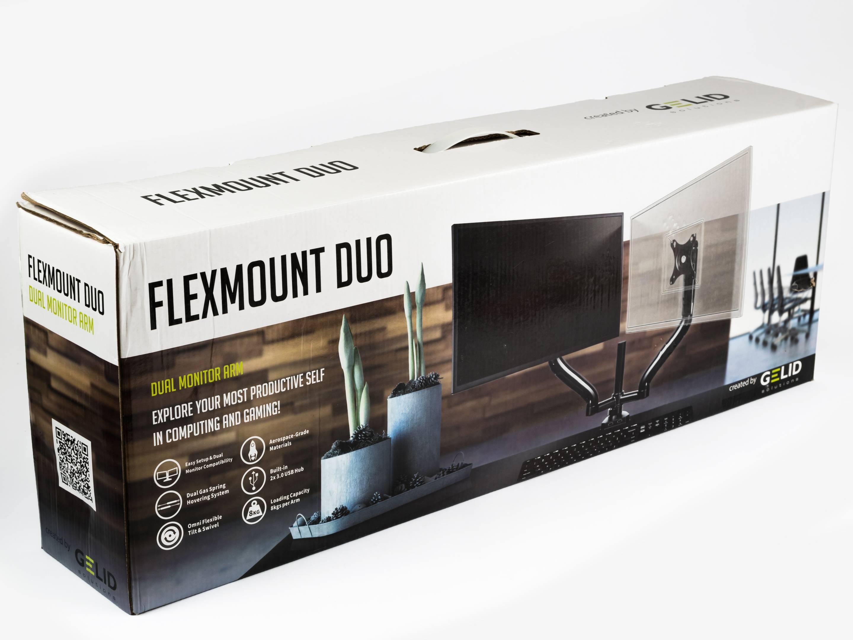 """Gelid FlexMount Duo: Lepší ergonomie pro dva až 34"""" LCD"""