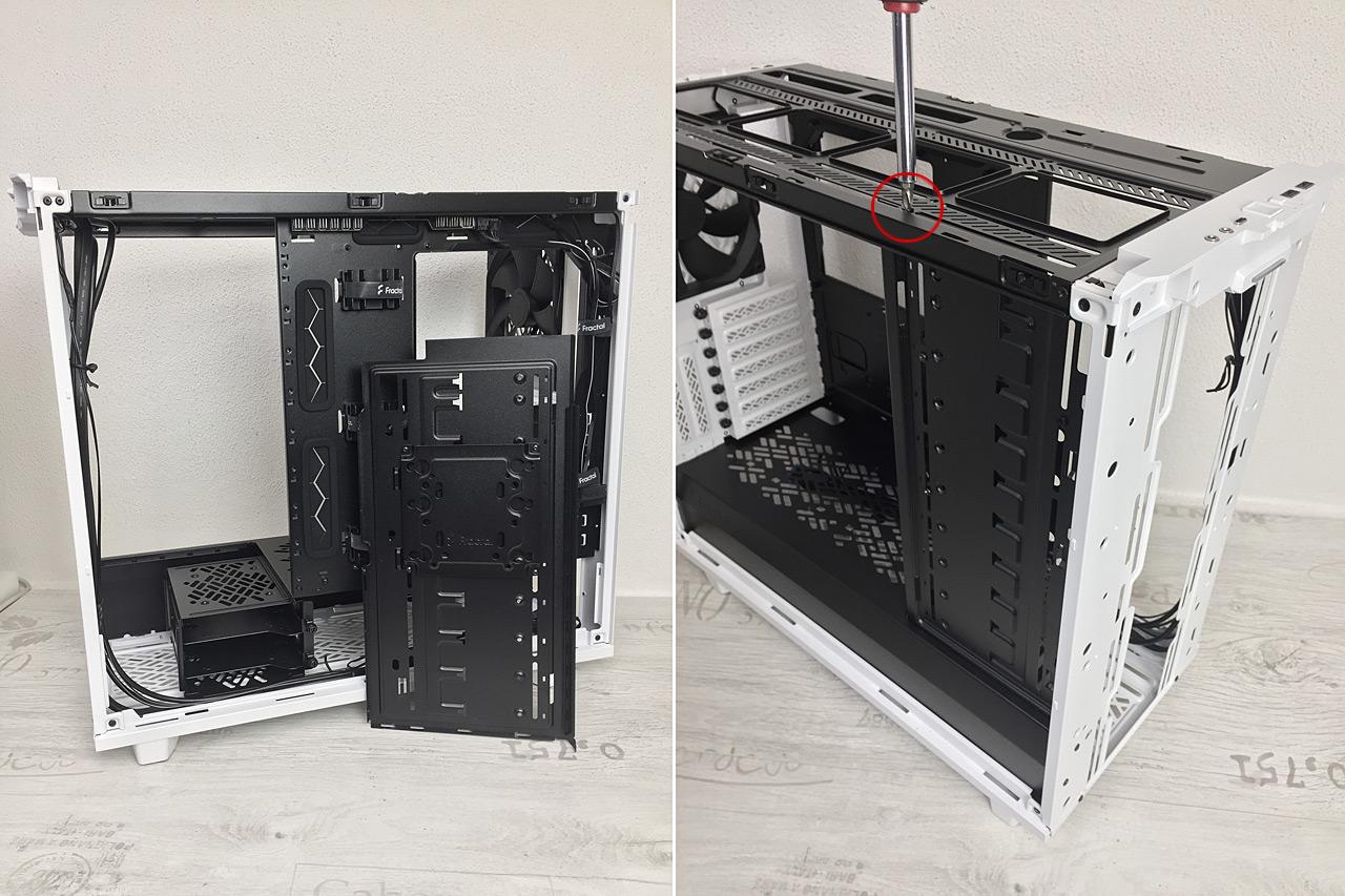 Test skříní Fractal Design Meshify 2 a Meshify 2 XL