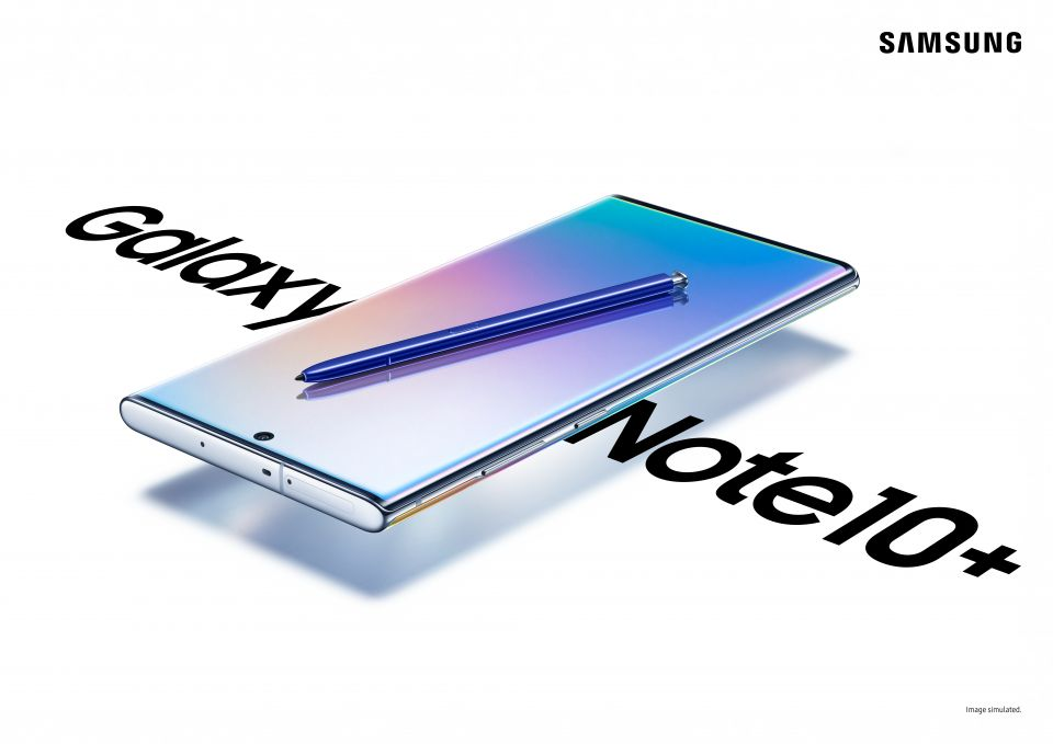 Samsung Galaxy Note10 a 10+ oficiálně: dokonalost v každém detailu