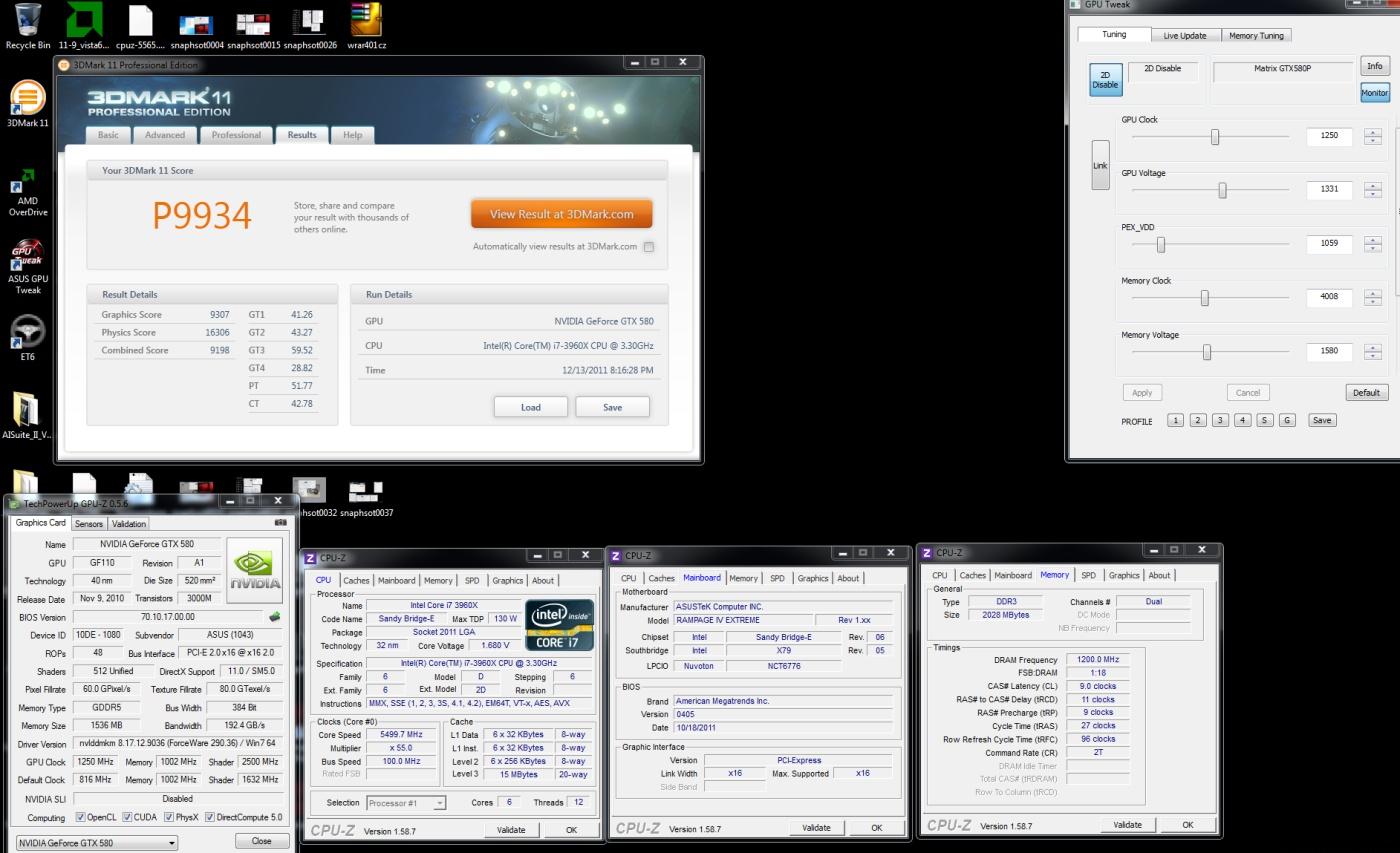 Report z OC akce – hardcore taktování na X79 s Asusem