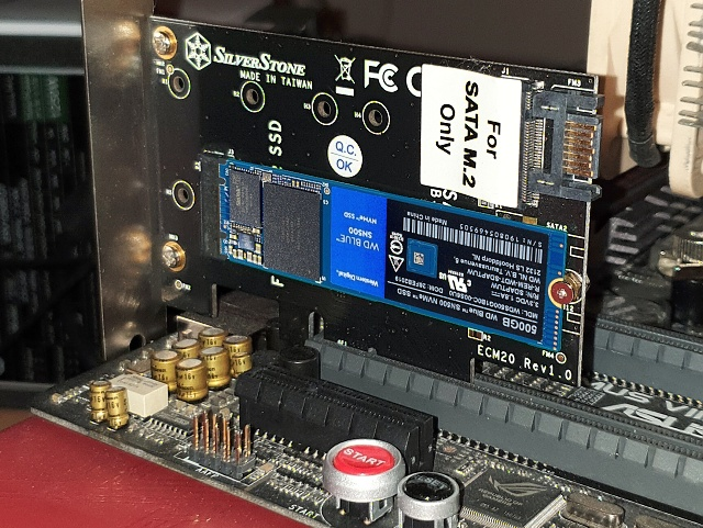 WD Blue (SN500) 500 GB – Nejlevnější SSD pro NVMe na trhu