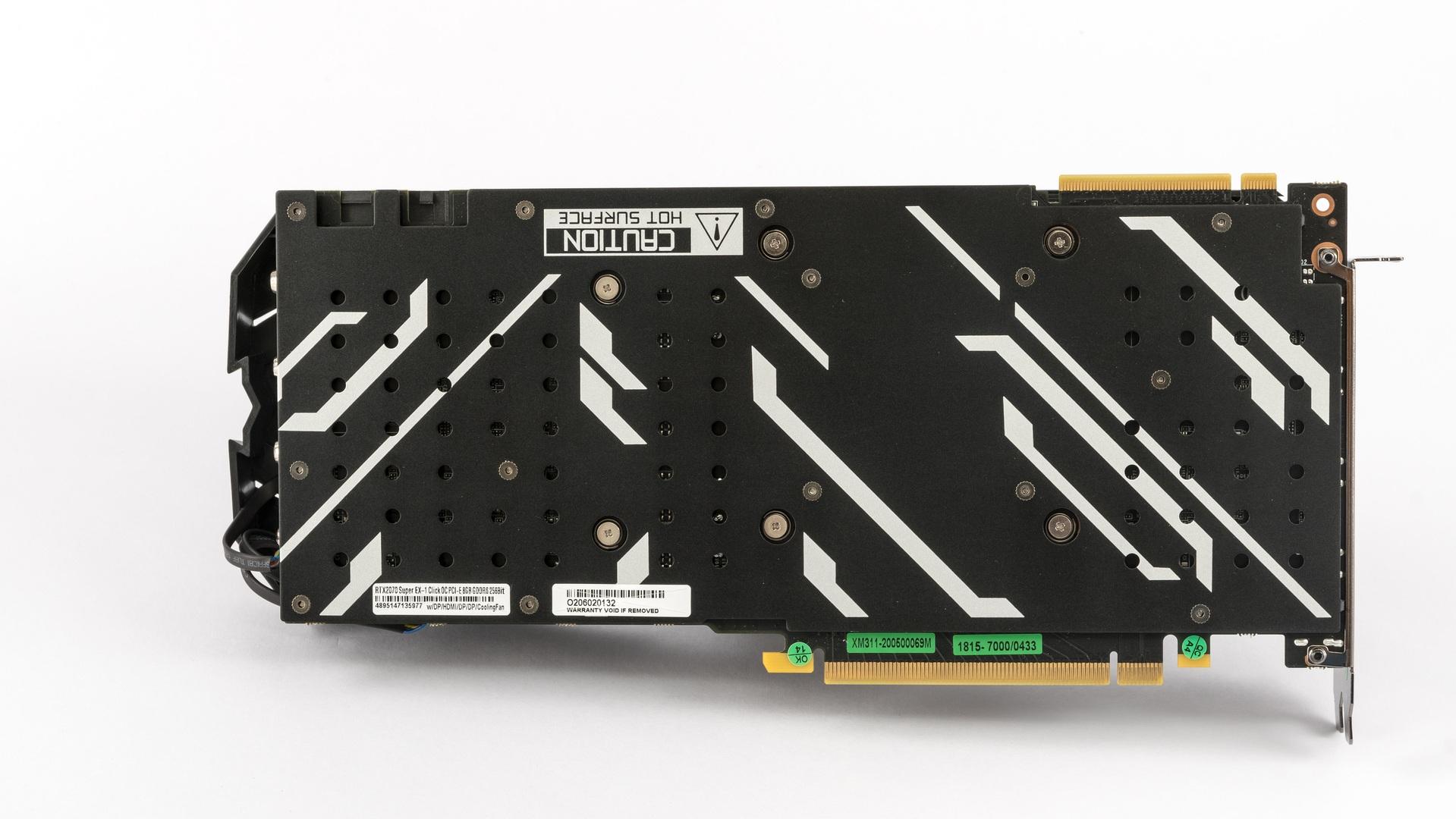 KFA2 GeForce RTX 2070 Super EX (1-Click OC) v testu