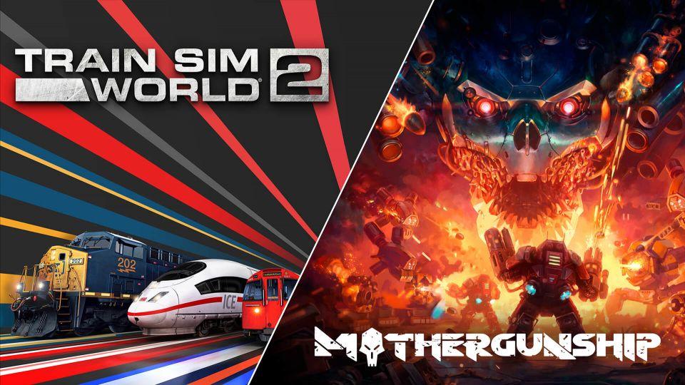 Stahujte hry zdarma: Mothergunship a Train Sim World 2