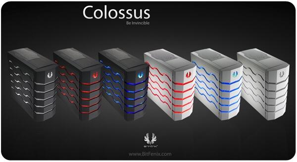BitFenix Colossus – těžkotonážní obr v exkluzivním designu
