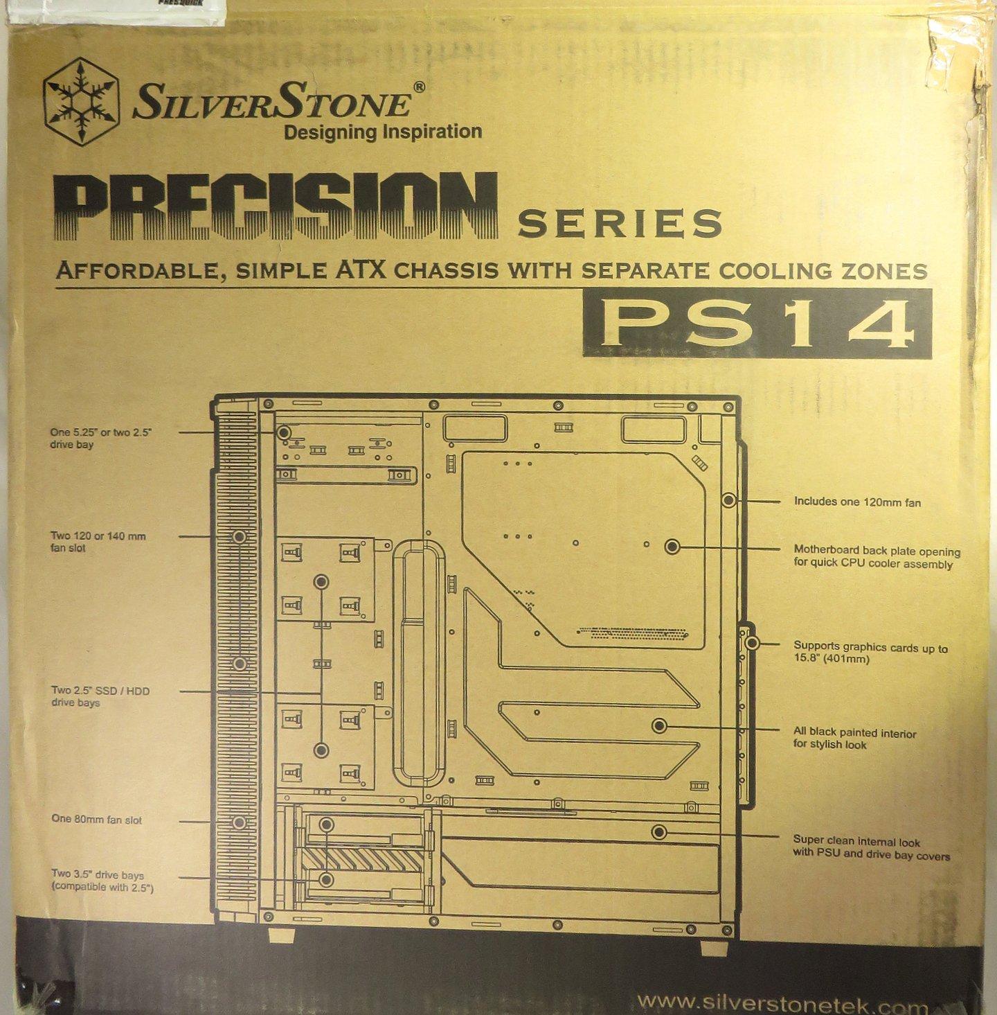 Silverstone SST-PS14B: moderna do kanceláře