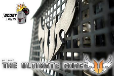 Custom case pro Boost my PC 5 v armádním stylu