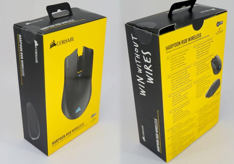 Corsair Harpoon RGB Wireless: myšák všeuměl