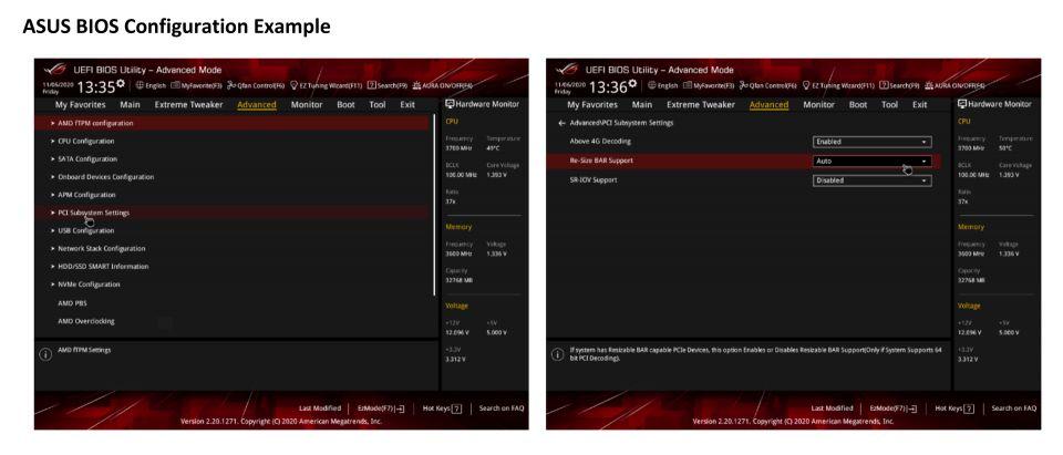 Ryzen 5900X, SAM a Corsair Vengeance LPX 32GB (4 × 8 GB)