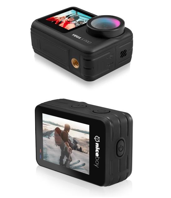 Akční kamera Niceboy Vega X Pro zvládá 4K video a nelze ji utopit