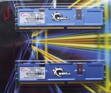 Bleskovka: GSkill F1-4000BIU2-2GBHV