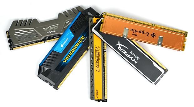 Velký test 8GB kitů pamětí DDR3 s frekvencí 1600 MHz