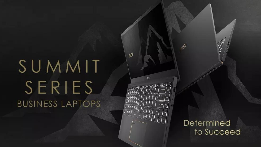 MSI odhalila novou sérii business laptopů Summit a nové logo