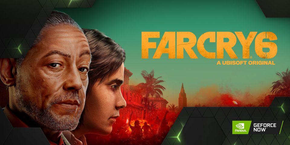 Far Cry 6, Guardianes de la Galaxia de Marvel, Riders Republic a další hry v GeForce NOW