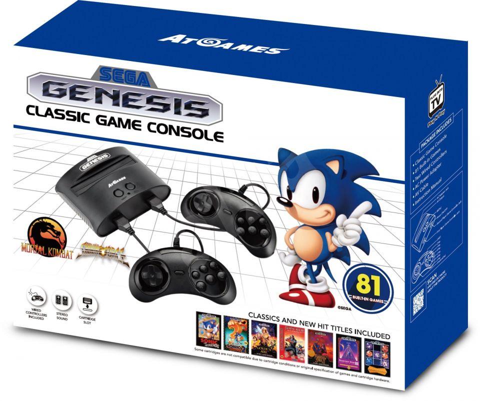 Sega Mega Drive a Nintendo SNES v novém vydání