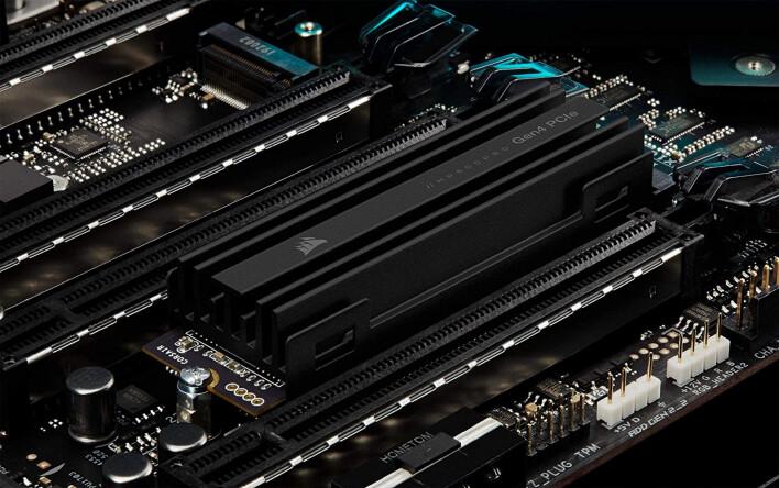 Corsair MP600 PRO Gen4 SSD slibuje vysoké přenosové rychlosti