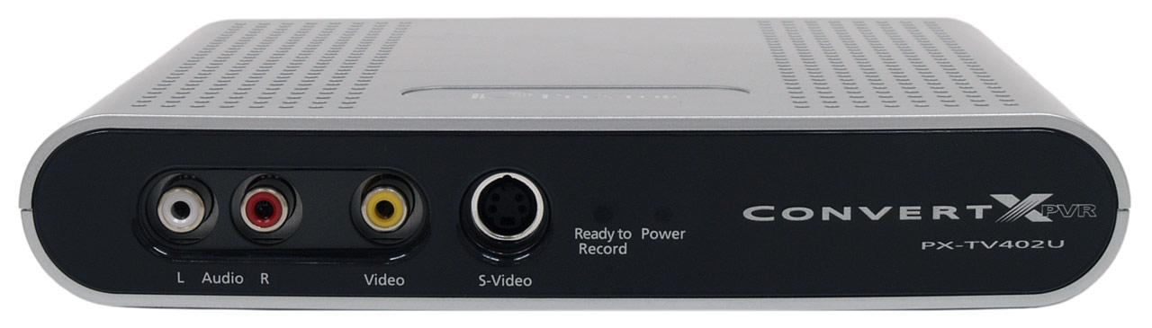 TV tuner s neobvyklými schopnostmi - Plextor ConvertX PVR PX-TV402U