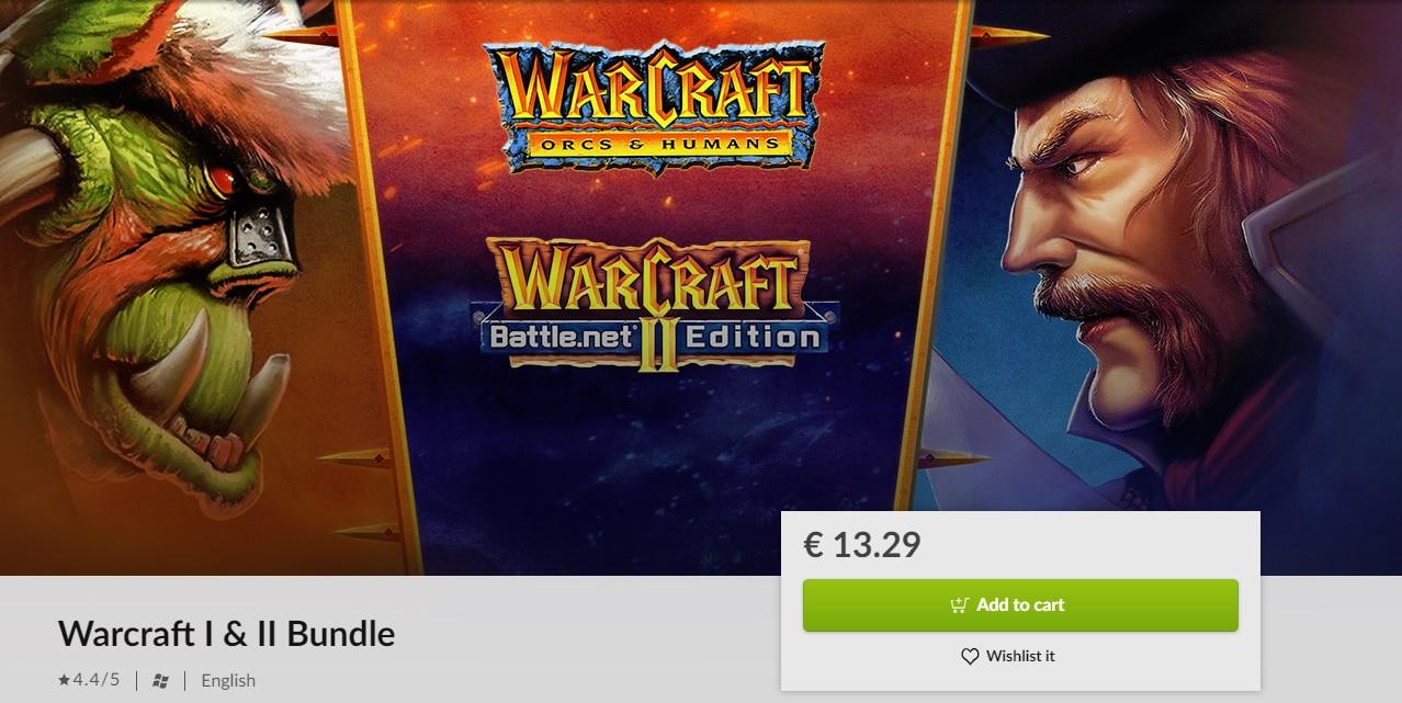Stáhněte si ve slevě první dva díly Warcraftu