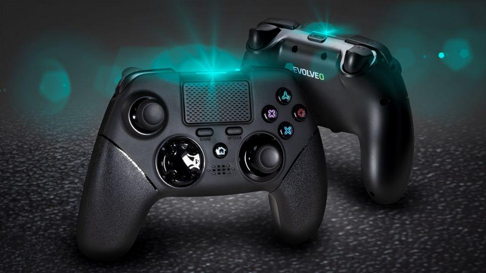 Gamepad Evolveo Ptero 4PS umožní hrát nejen na konzolích ale i telefonech