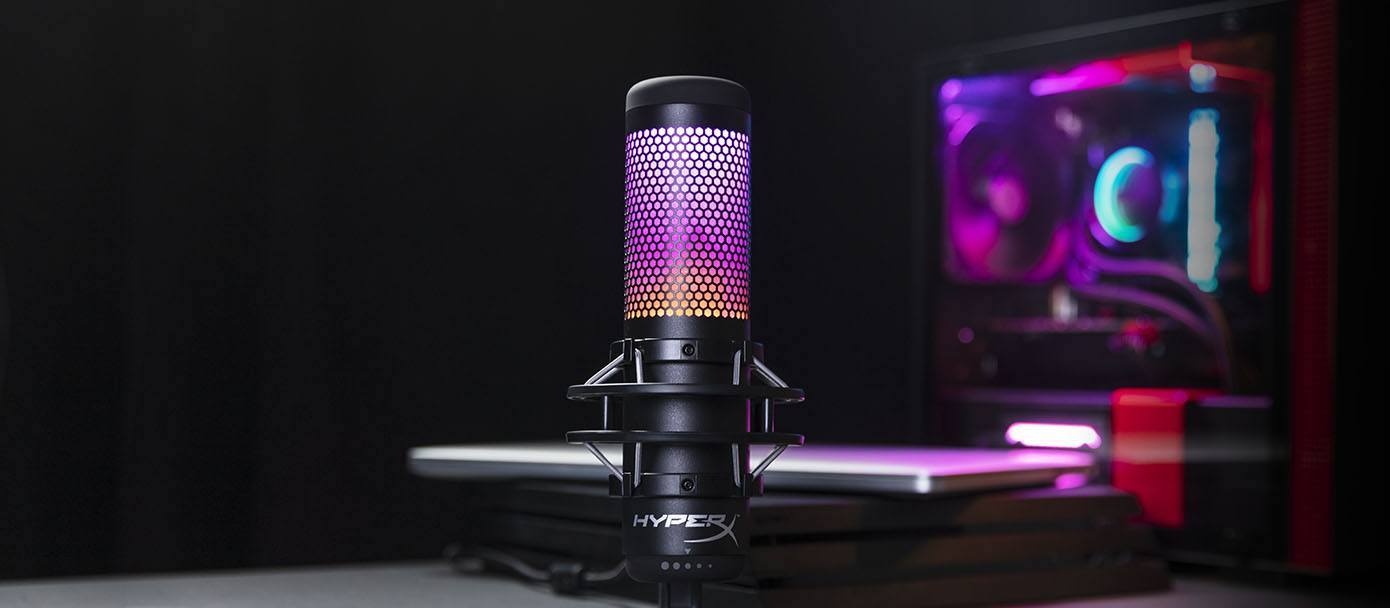 HyperX má nový USB mikrofon pro streamery, model QuadCast S