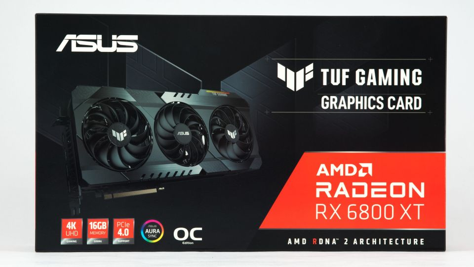 Asus TUF RX 6800 XT O16G Gaming v testu: skvělá a drahá karta