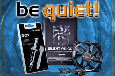 Ticho! Soutěžíme o zdroje a chlazení s Be Quiet!