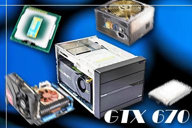 Stavíme malý herní počítač + test karty Asus GTX 670 Mini