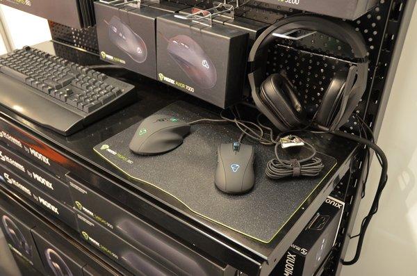 Myši, klávesnice, sluchátka, podložky - Mionix má pro hráče celou výbavu!