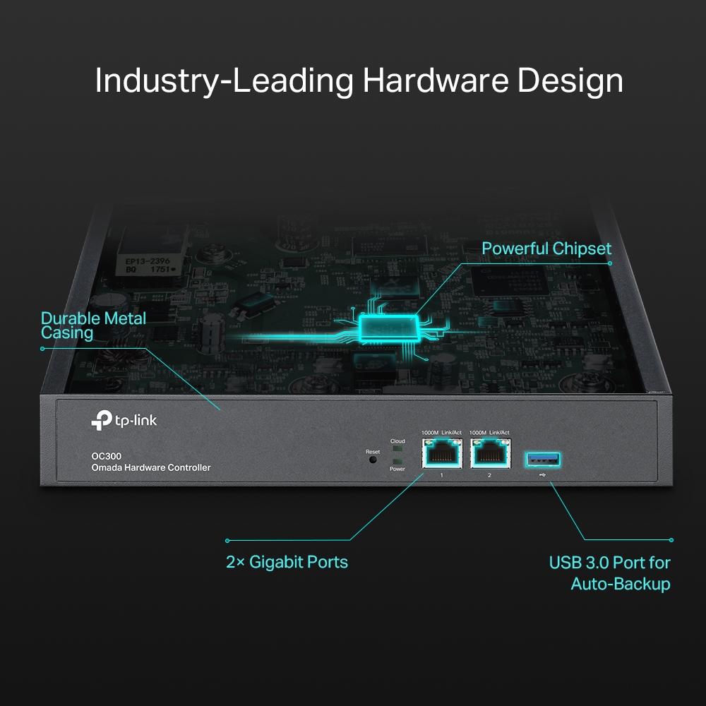 TP-Link OC300 je hardwarový kontrolér pro správu stovek síťových zařízení