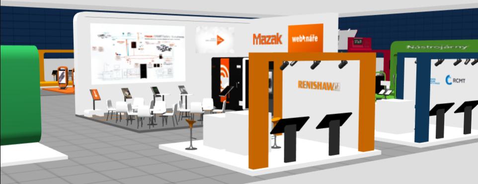 První virtuální průmyslová výstava u nás