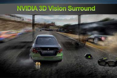 NVIDIA 3D Vision Surround — obklopte se třetím rozměrem