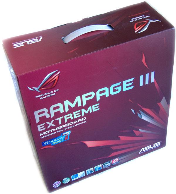 ASUS Rampage III Extreme - sázka na extrémní jistotu