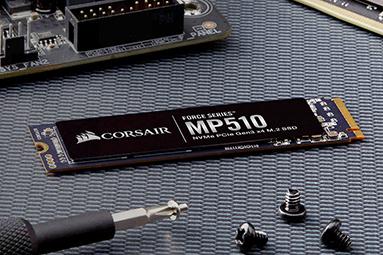 Corsair MP510 960 GB: Výkonné 3D TLC SSD za dobrou cenu