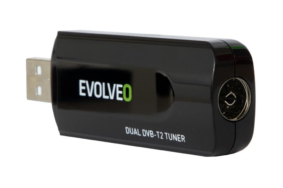 Evolveo představuje nový USB DVB-T2 tuner pro počítač nebo notebook