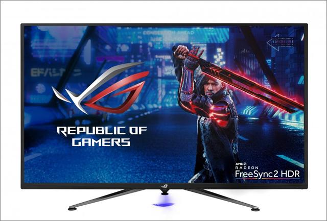 ASUS ROG Strix XG438Q přináší 4K, 120 Hz a podporu FreeSync2