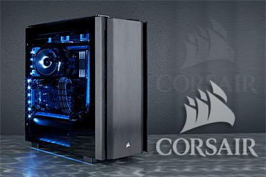 Corsair Obsidian Series 500D – ikona se skleněnými křídly