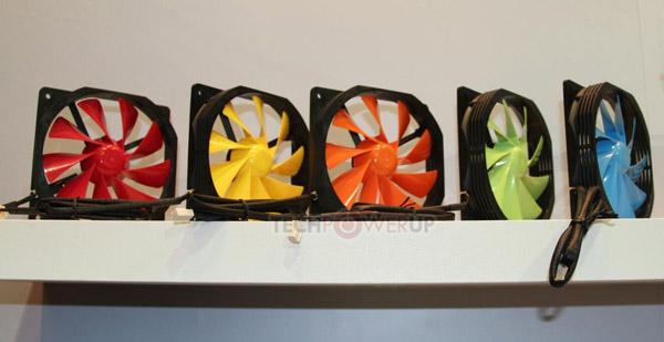 Xigmatek představil novou sérii barevných ventilátorů XOF s průměrem 120 mm [Computex]