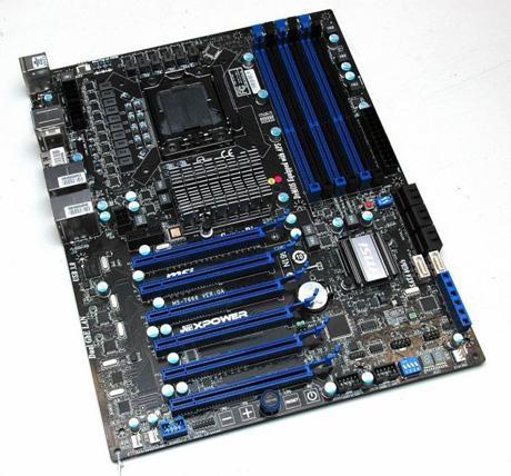 MSI Big Bang XPower pro nejsilnější procesory