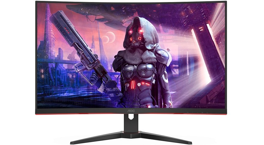 AOC CQ32G2SE a C32G2AE: zakřivené herní monitory s frekvencí 165 Hz