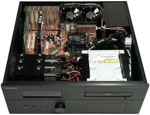 Zalman HD160 pro HTPC (Home Theater PC)