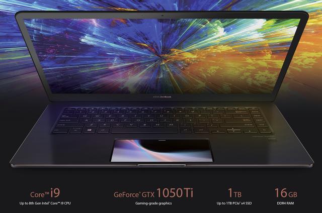ASUS Zenbook Pro 15 – laptop s displejem v touchpadu