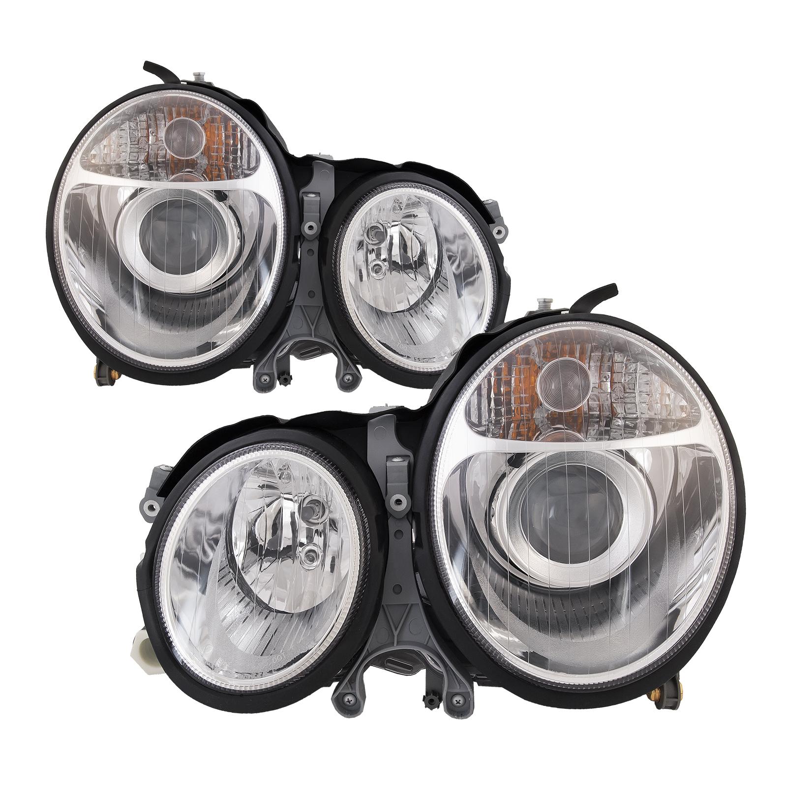 Original OEM For 03-06 Mercedes W211 E Class Halogen Headlight Headlamp Housing