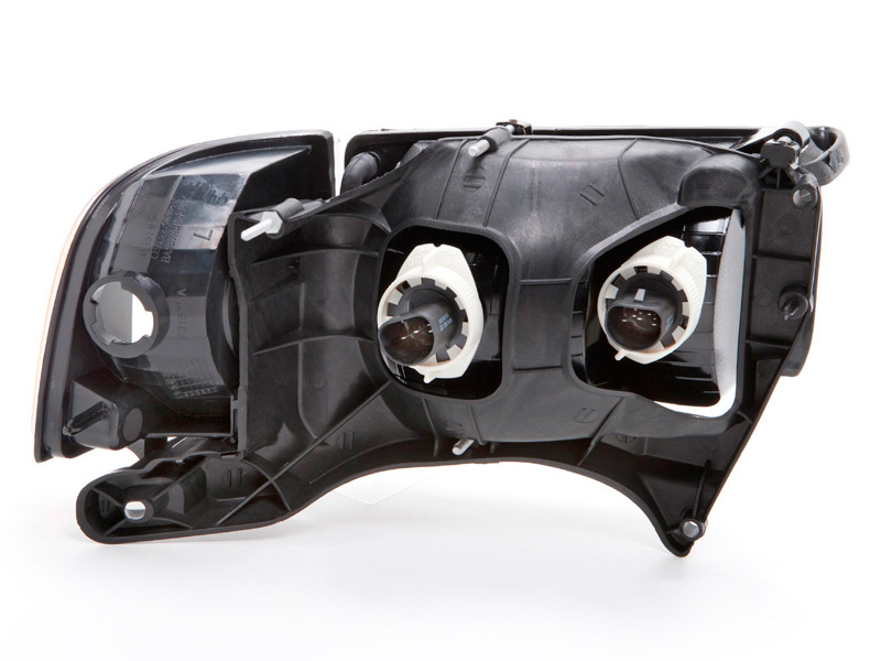 19992001 Dodge Ram Sport Headlights wHalogenType Xenon Bulbs at
