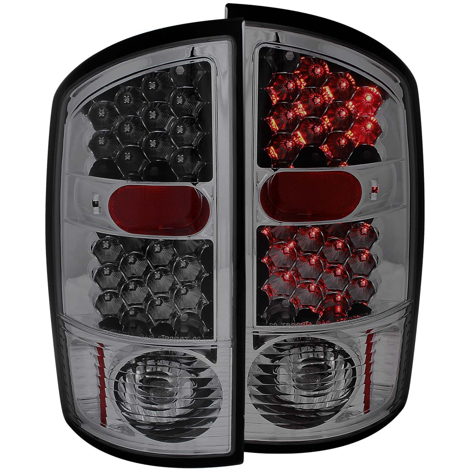 Details About Fits Dodge Ram 1500 2500 3500 Tail Lights Left Right Pair W Smoke Lens