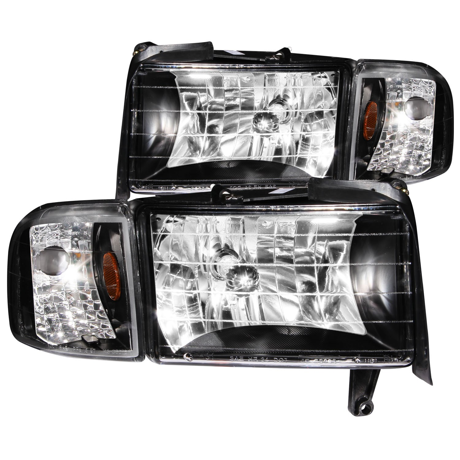 Details About Fits Dodge Ram 1500 2500 3500 Headlight Left Driver Right Penger