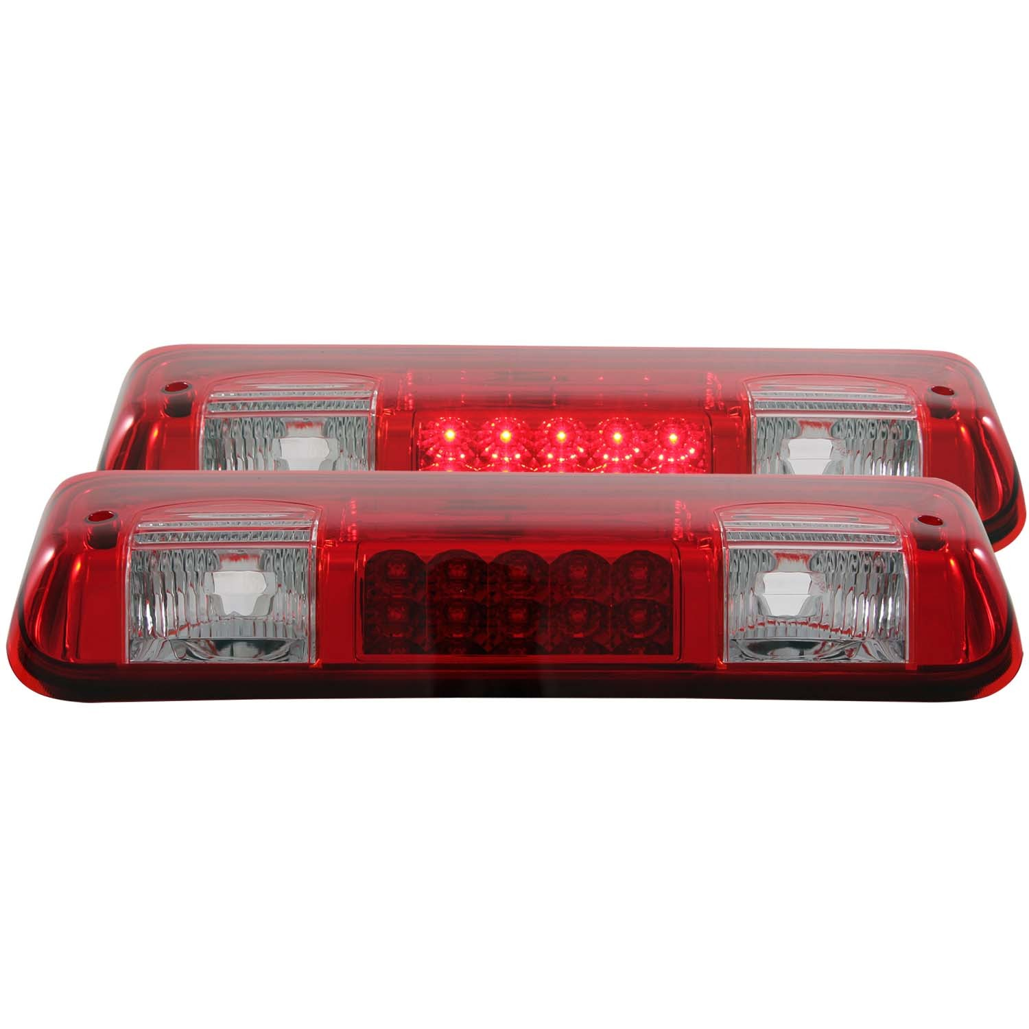 Ford F-150 2004-2008 Third Brake Tail Light LED Lamp Smoke Lens