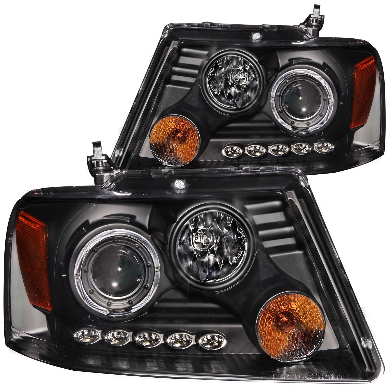 2006 2007 Ford F 150 Headlight Pair Front Left Driver & Right