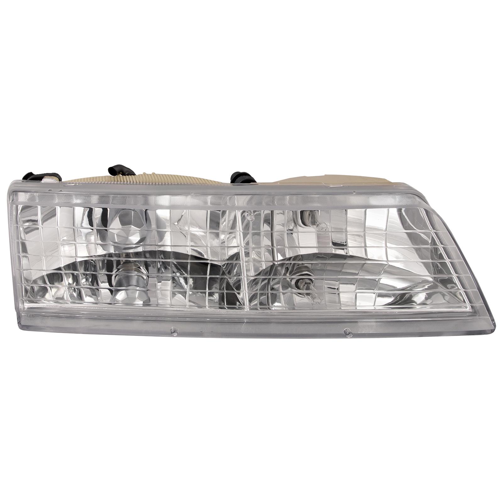Headlight Headlamp Passenger Side Right RH NEW for 95-97 Mercury Grand Marquis