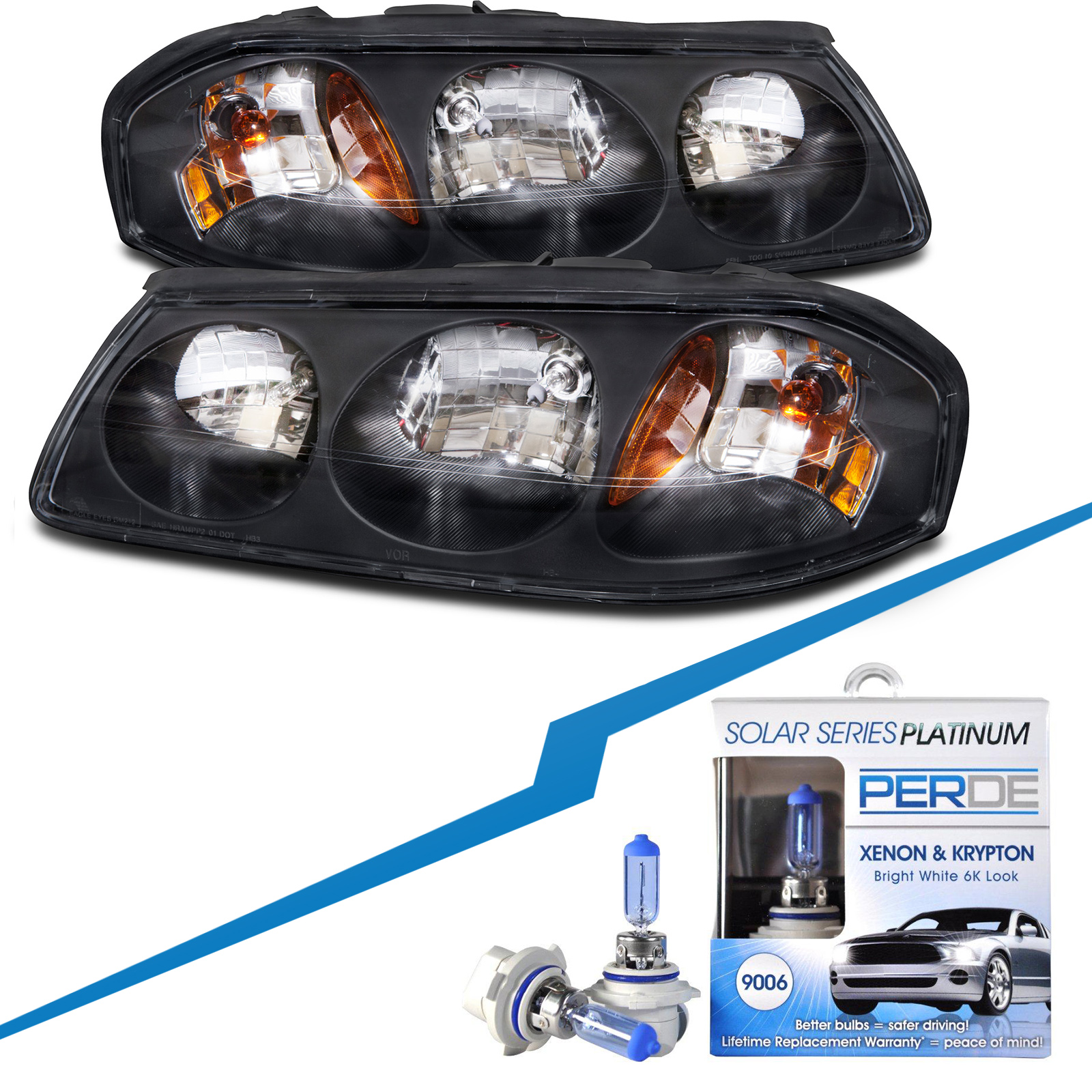 06 impala headlights water feature parts